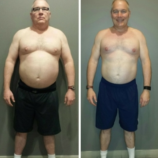 Awesome 30 pound fat loss results after just 4 weeks at Weight Loss Camp