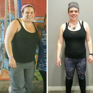 Weight loss camp before and after