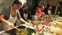 Unite Fitness Retreat Cooking Class