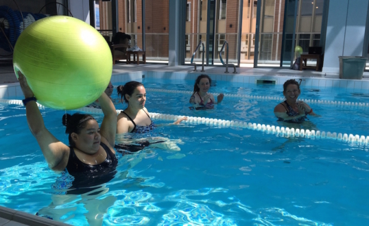 Weight Loss Camp Pool Class
