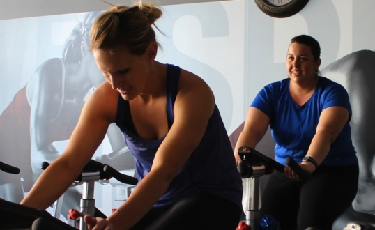 Fitness Retreat Spin Class