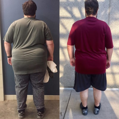 Before and After Weight Loss Unite Fitness Retreat