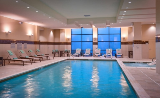 Unite Fitness Indoor Pool